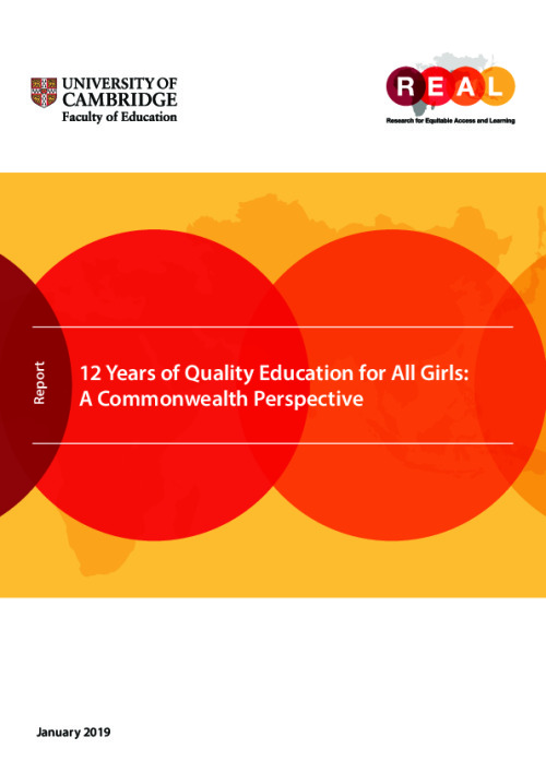 12 Years of Quality Education for All Girls: A Commonwealth Perspective