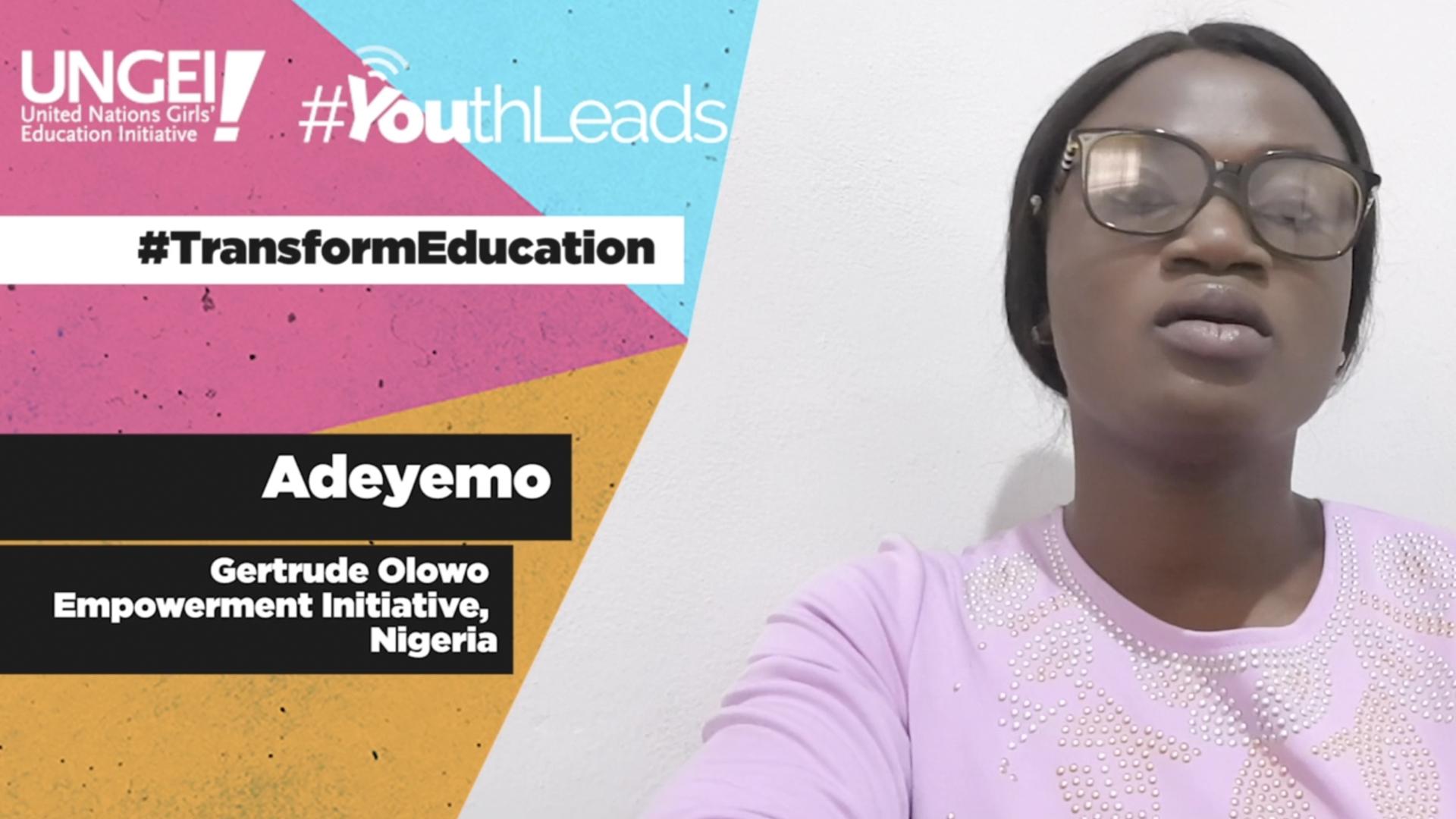 Adeyemo, Gertrude Olowo Empowerment Initiative, Nigeria