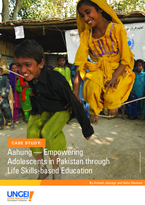 Aahung: Empowering adolescents in Pakistan through life skills-based education