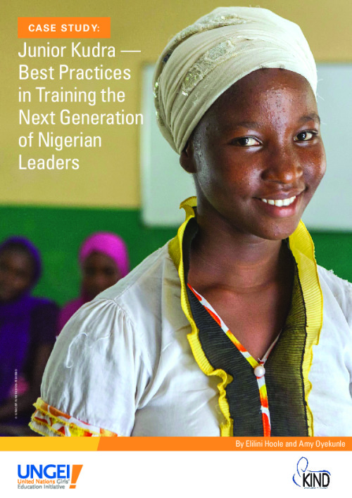 Junior Kudra: Best practices in training the next generation of Nigerian leaders
