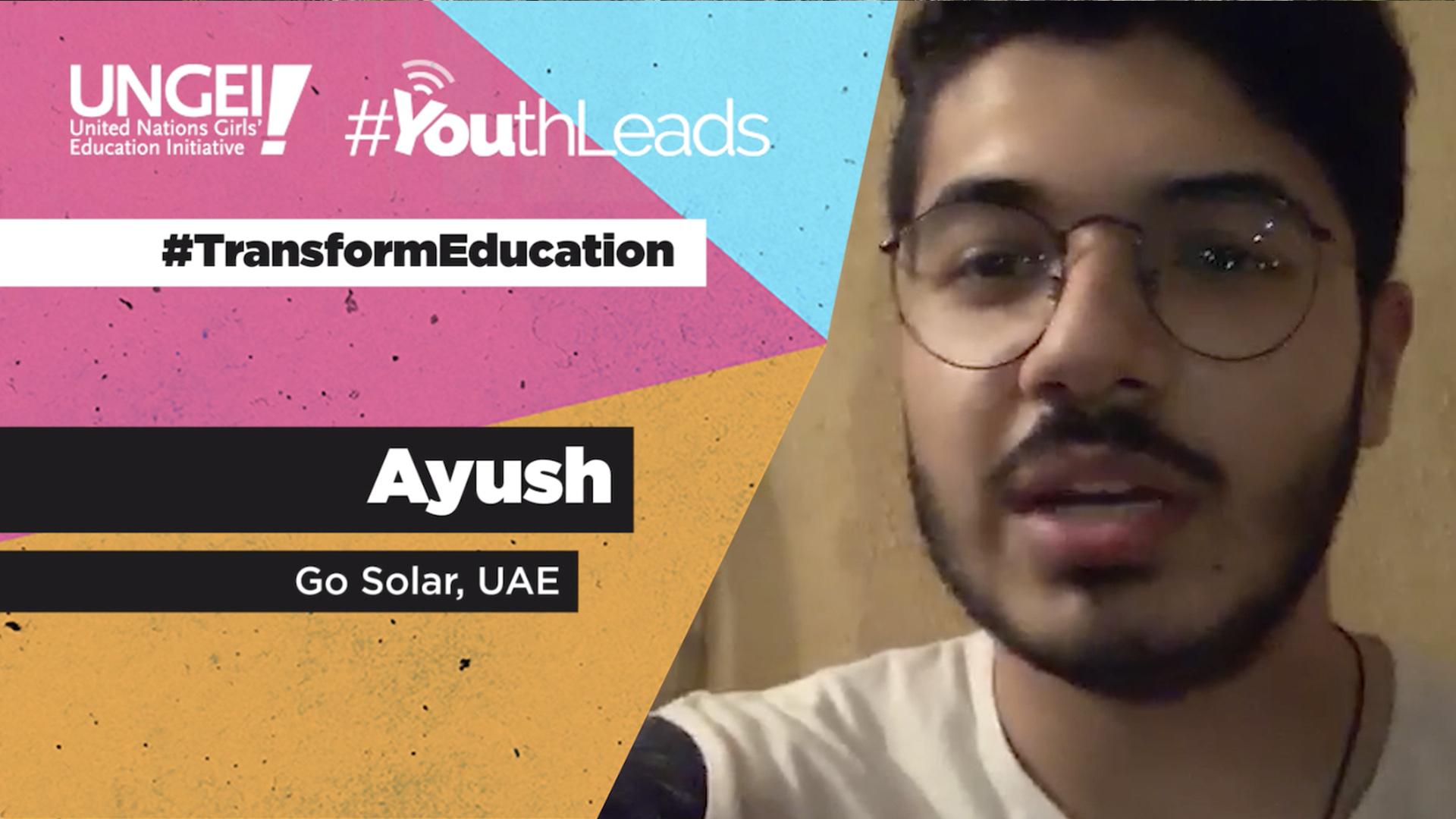 Ayush (GoSolar, UAE)