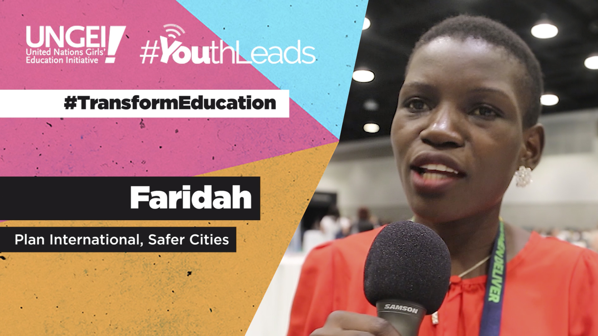 Faridah, Plan International Uganda