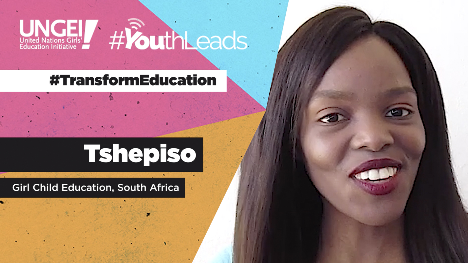 Tshepiso, Girl Child Education, South Africa