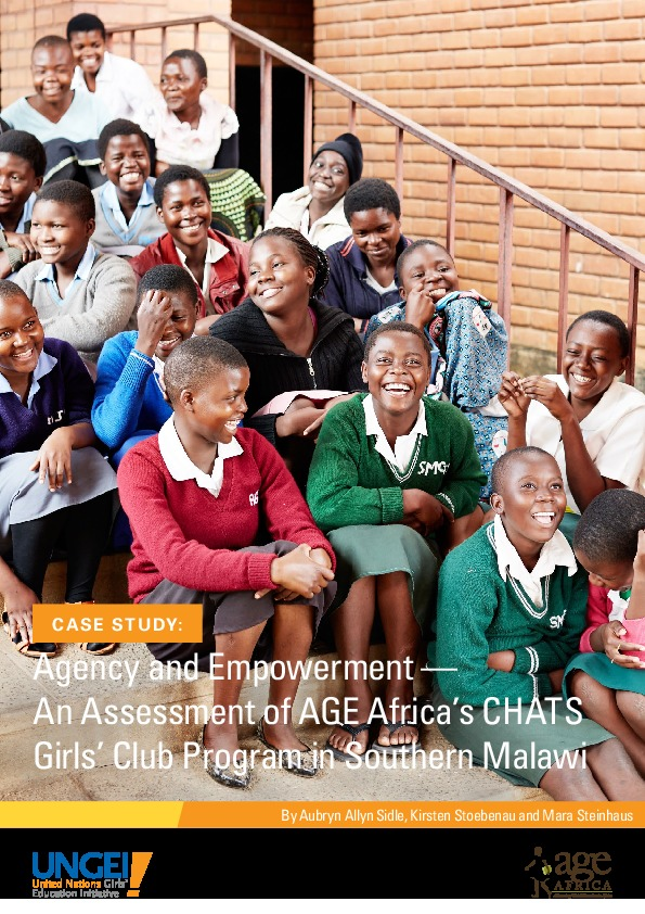 Agency and empowerment: An assessment of AGE Africa's CHATS Girls' Club Program in southern Malawi