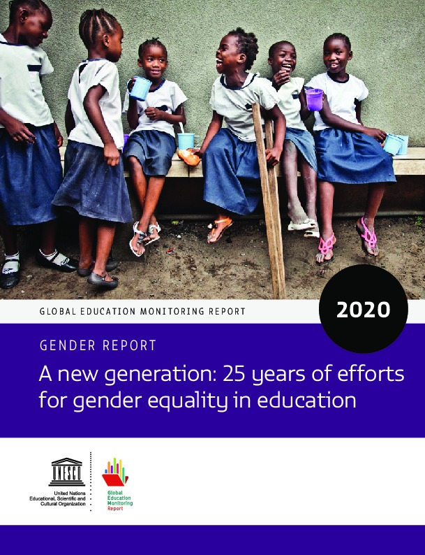 A new generation: 25 years of efforts for gender equality in education