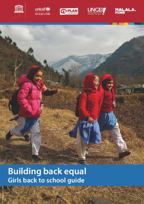 Building back equal: Girls back to school guide