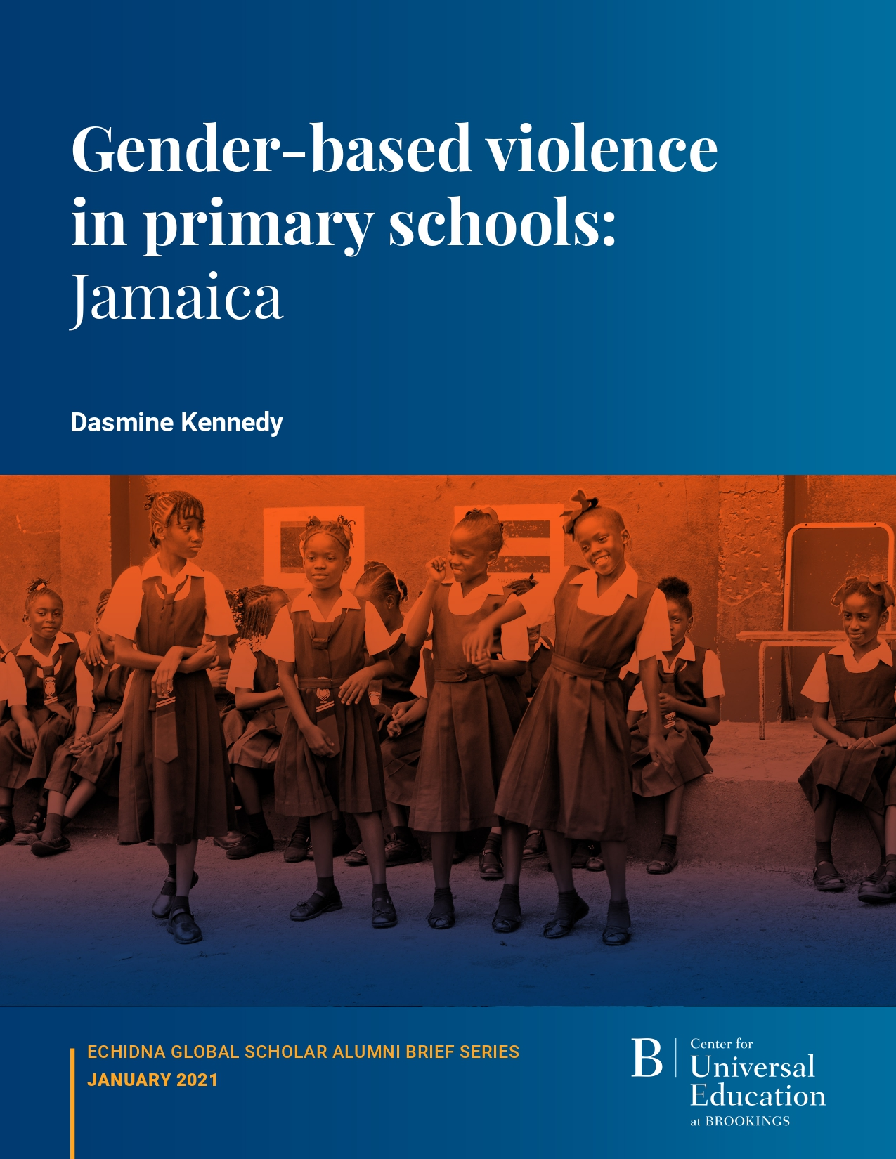 Gender-based violence in primary schools: Jamaica