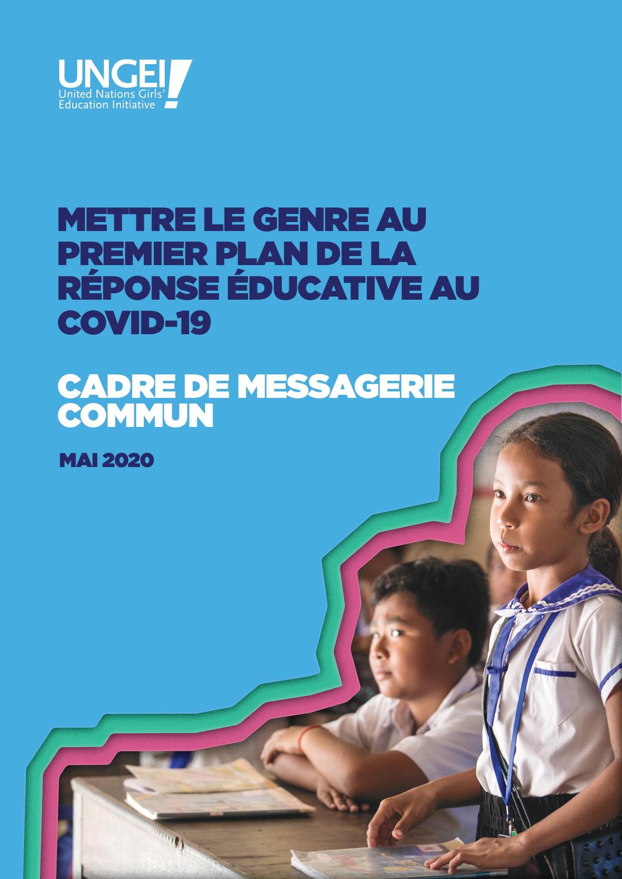 Mettre le genre au premier plan du réponse éducative au COVID-19