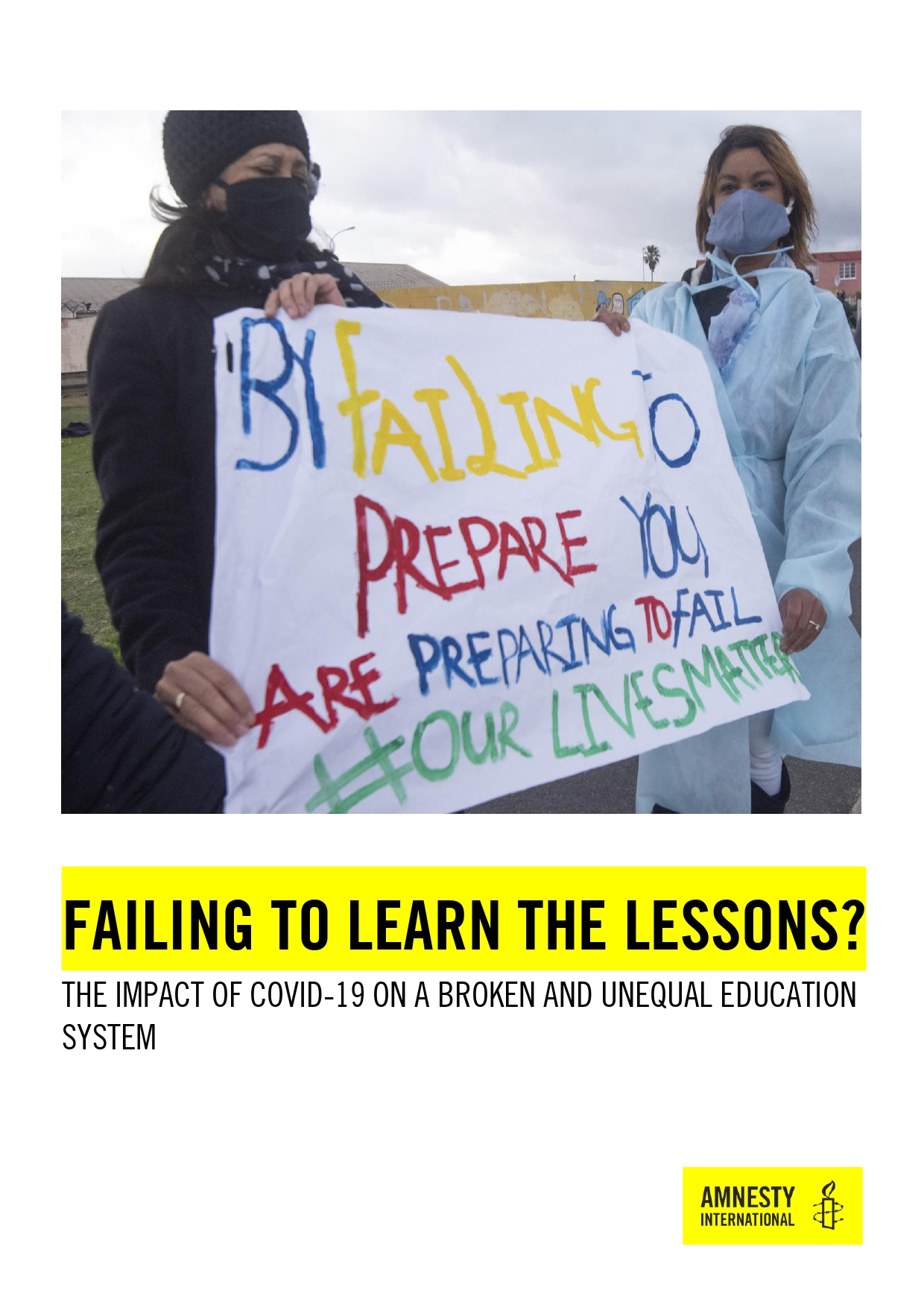 South Africa: Failing to Learn the Lessons? The impact of COVID-19 on a broken and unequal education system