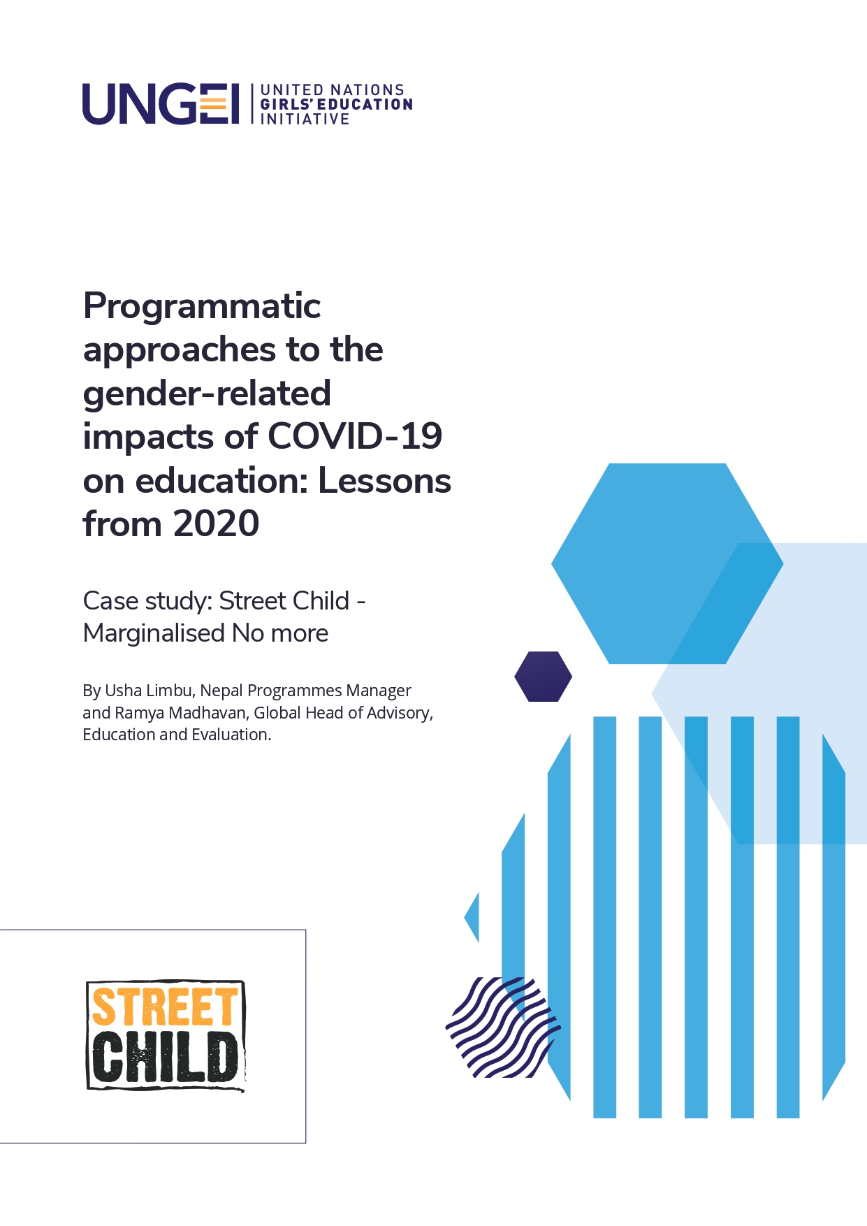 Case study: Street Child - Marginalised No more