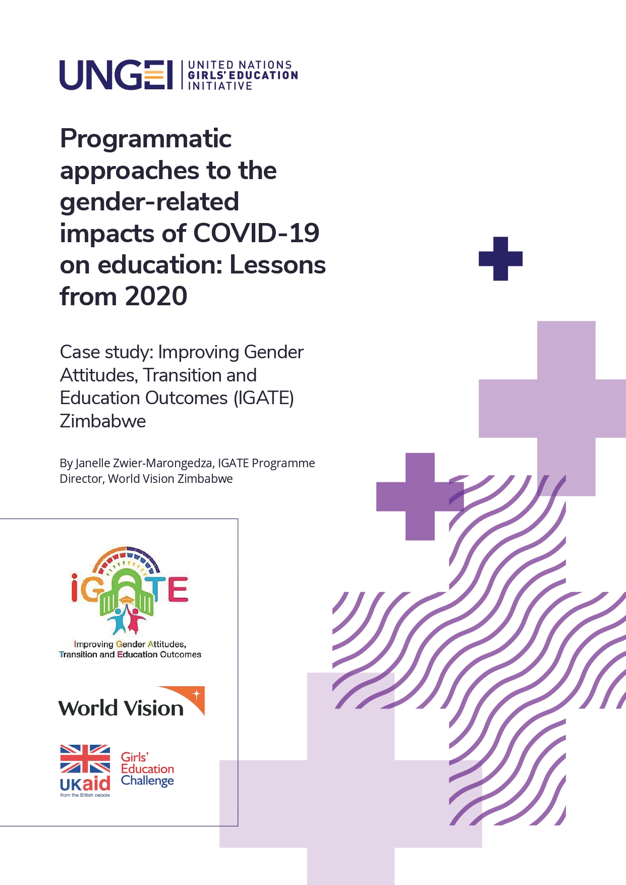 Case study: Improving Gender Attitudes, Transition and Education Outcomes (IGATE) Zimbabwe