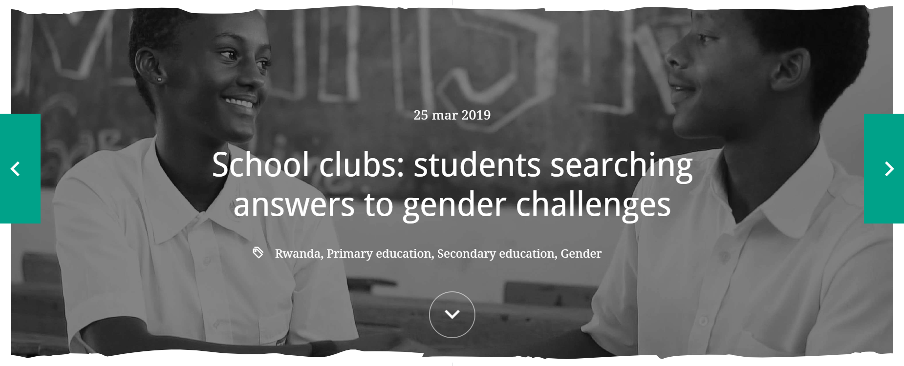 School clubs: students searching for answers to gender challenges