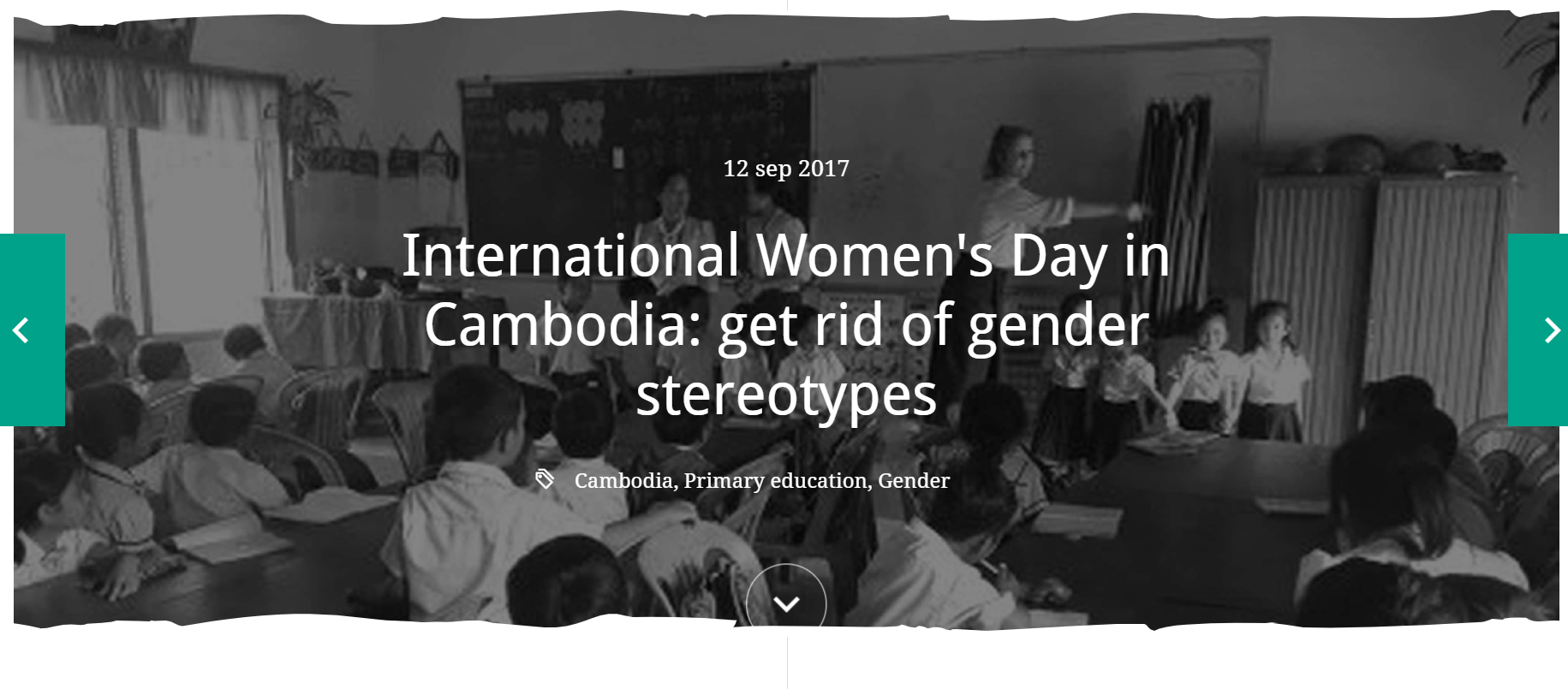 International Women's Day in Cambodia: get rid of gender stereotypes