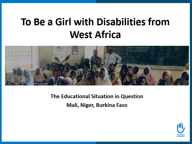 To Be a Girl with Disabilities from West Africa