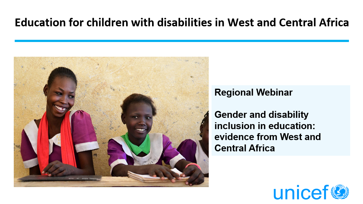 Education for children with disabilities in West and Central Africa