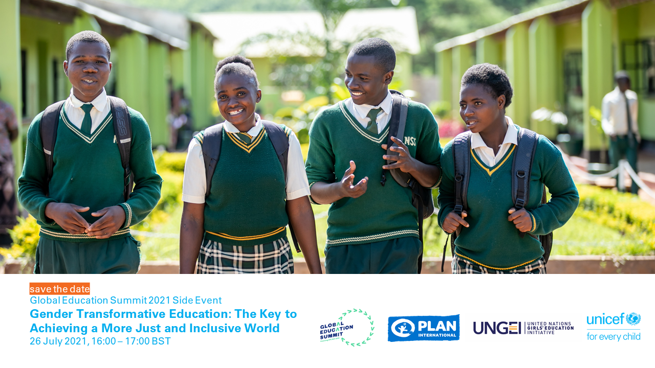 Gender transformative education: the key to achieving a more just and inclusive world