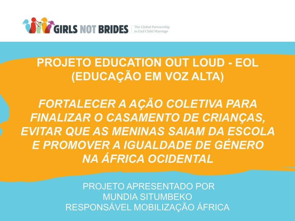Projeto Education Out Loud