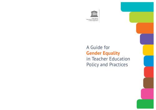 Guide pour l'égalité des genres dans les politiques et les pratiques de formation des enseignants