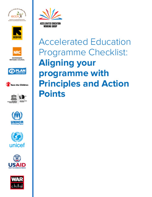 Accelerated Education Programme Checklist