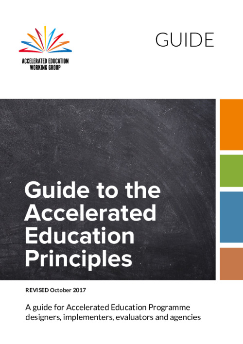 Guide to the Accelerated Education Principles