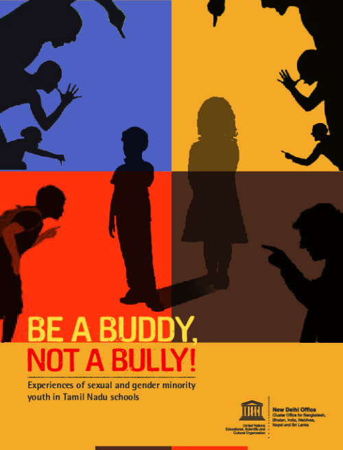 Be a buddy, not a bully!