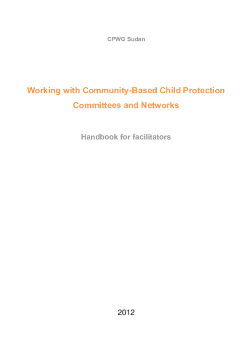 Working with Community-Based Child Protection Committees and Networks