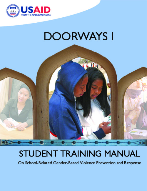 Doorways I: Student training manual on school-related gender-based violence prevention and response