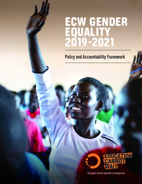 ECW Gender Policy and Accountability Framework