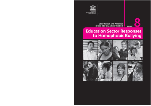 Education sector responses to homophobic bullying