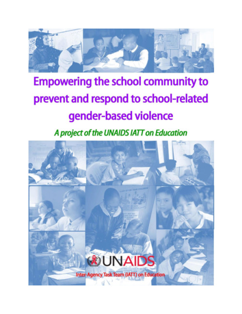 Empowering the school community to prevent and respond to school related gender-based violence