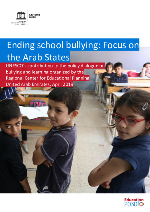 Ending school bullying: focus on the Arab States