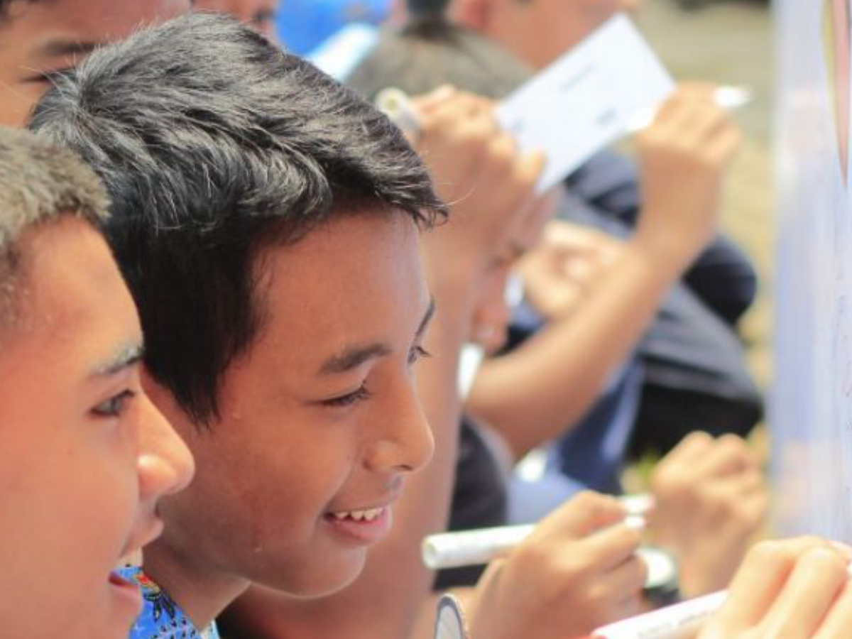Engaging influential students to tackle peer violence in indonesia