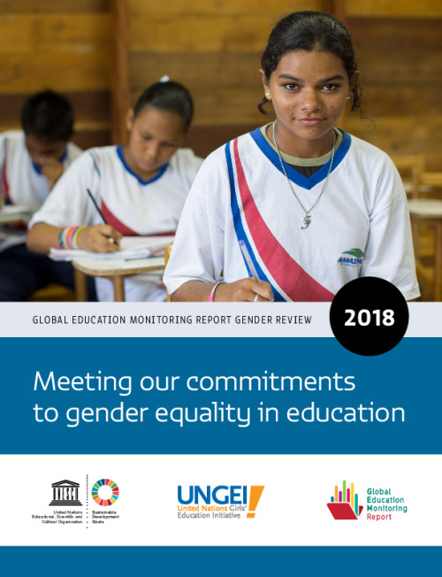 Meeting our commitments to gender equality in education