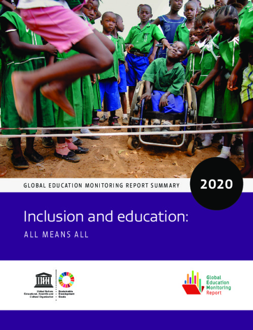 Inclusion and education: All means all
