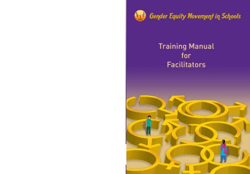 GEMS Training Manual for facilitators