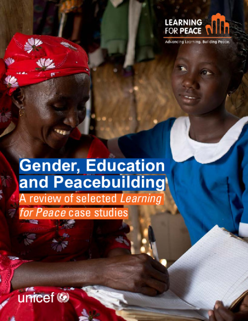 Gender, Education and Peacebuilding