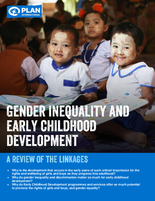 Gender inequality and early childhood development