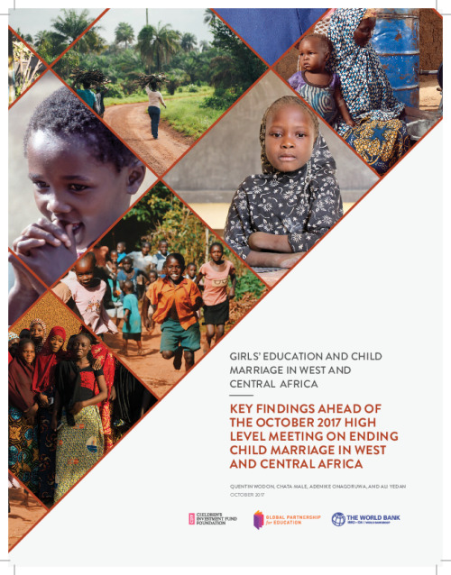 Girls' Education and Child Marriage in West and Central Africa