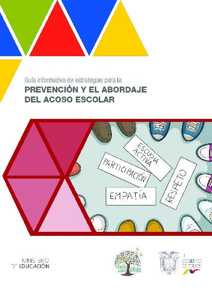 Guia informativa de estrategias para la prevencion y el abordaje del acoso escolar