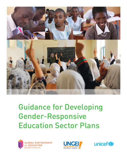 Guidance for developing gender-responsive education sector plans