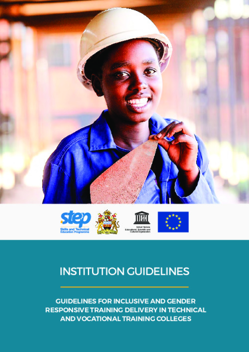 Guidelines for Inclusive and Gender Responsive Training Delivery in Technical and Vocational Training Colleges