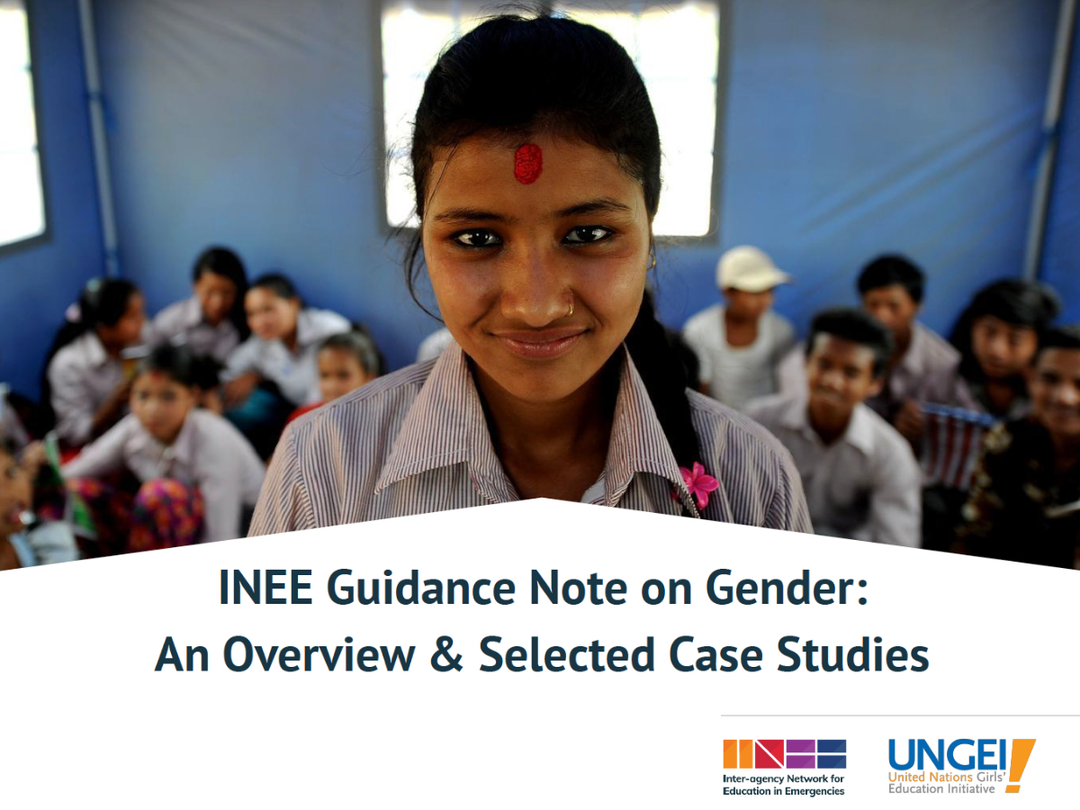 Webinar: Gender Equality in and through Education