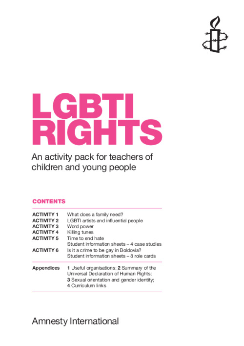 LGBTI rights