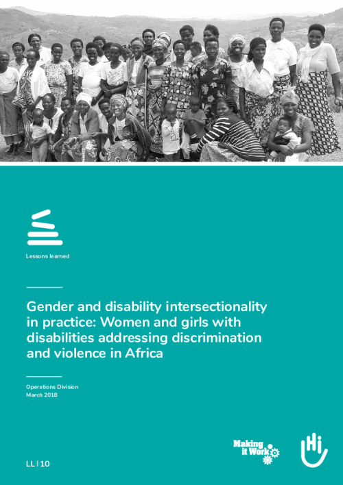 Gender and disability intersectionality in practice