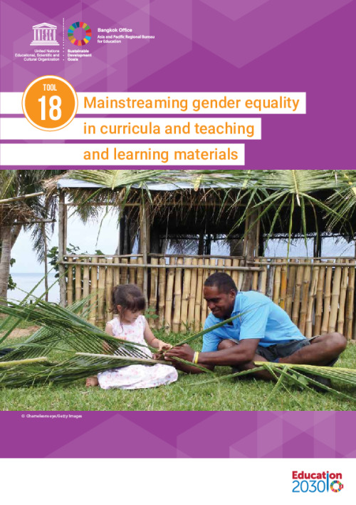 Mainstreaming Gender Equality in Curricula and Teaching and Learning Materials (Tool 18)