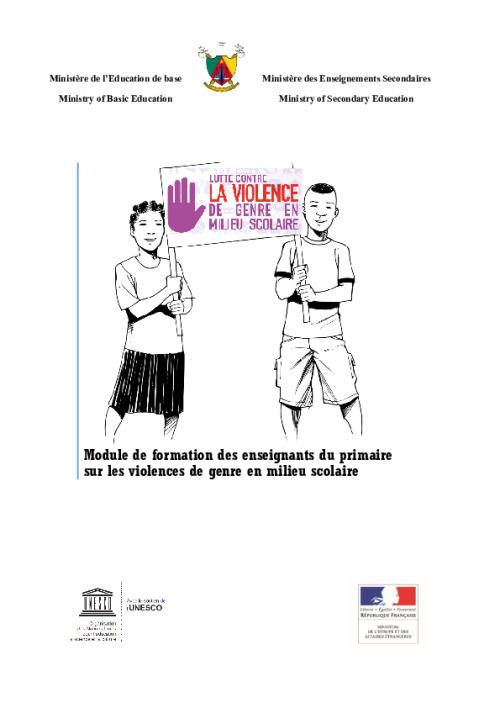 Module de formation des enseignants du primaire sur les violences de genre en milieu scolaire