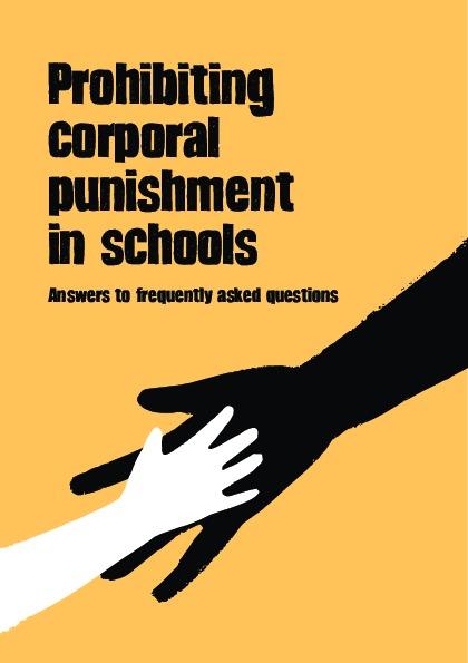 Prohibiting Corporal Punishment in Schools