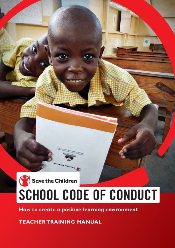 School Code of Conduct Teacher Training Manual
