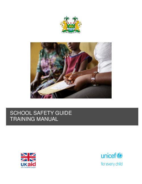 School safety guide training manual