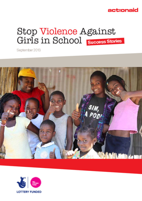 Stop Violence Against Girls in School: Success stories